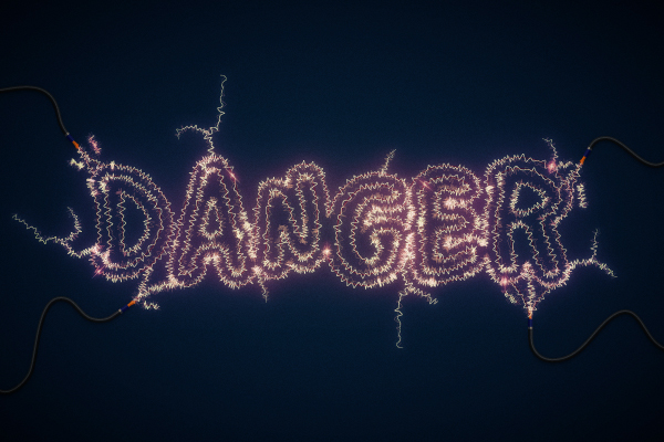 Link toDanger! danger! high voltage! create an electric text effect in illustrator