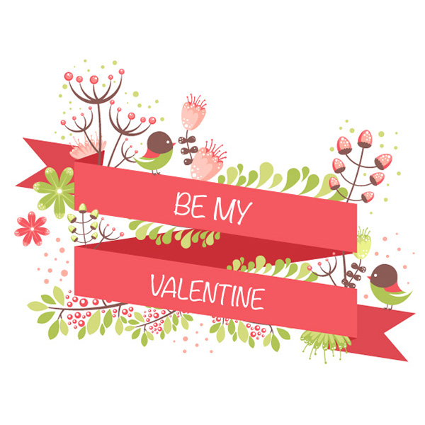 Create a Floral St Valentines Postcard in Adobe Illustrator – Saint Valentine Card
