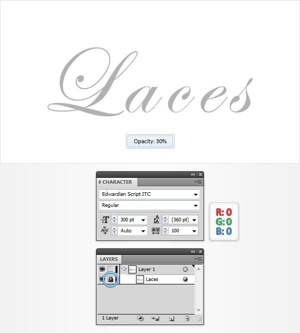 Use Pattern Brushes to Create a Shoe Lace Text Effect in Illustrator