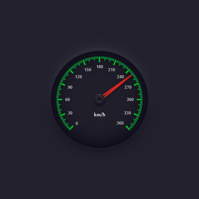 Create a Simple Speedometer Illustration in Adobe Illustrator