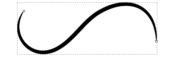 tapered line draw