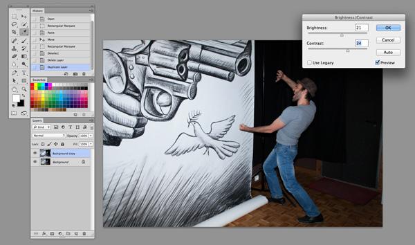 Ben Heine Pencil vs Camera Tutorial