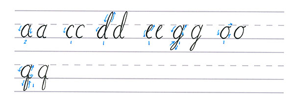 Letter Q - Handwriting Worksheets