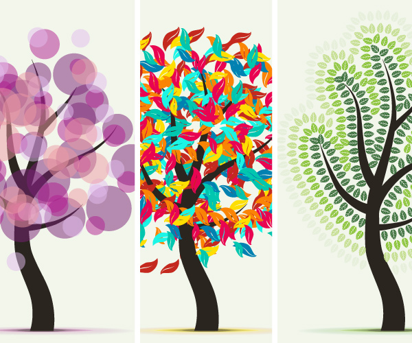 Learn More About Art and Scatter Brushes While Drawing Abstract Trees
