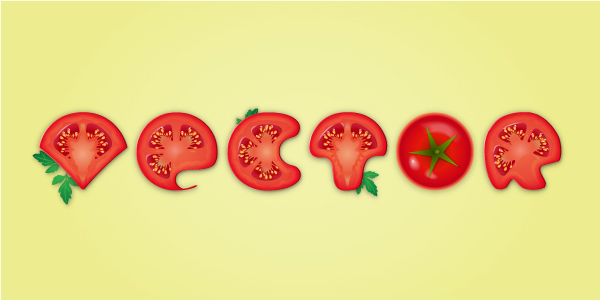 Link toCreate a detailed tomato text effect in adobe illustrator