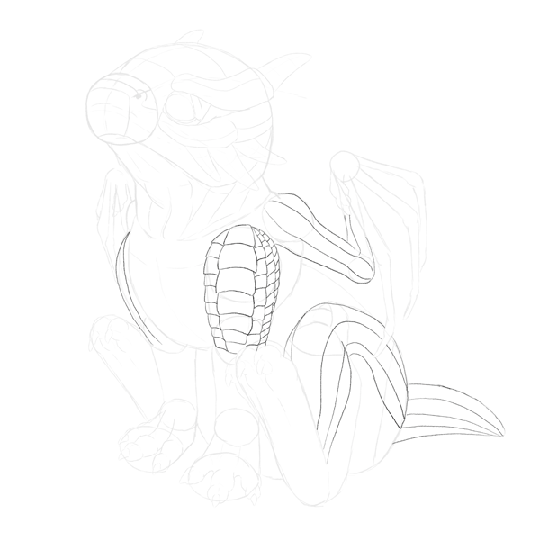 drawingbabydragon-3-5-scales-body