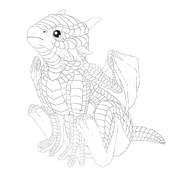 drawingbabydragon-4-3-sketch-done