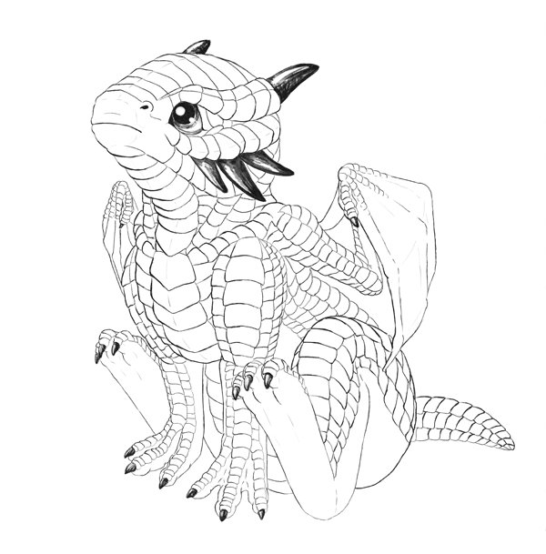 drawingbabydragon-4-5-horns