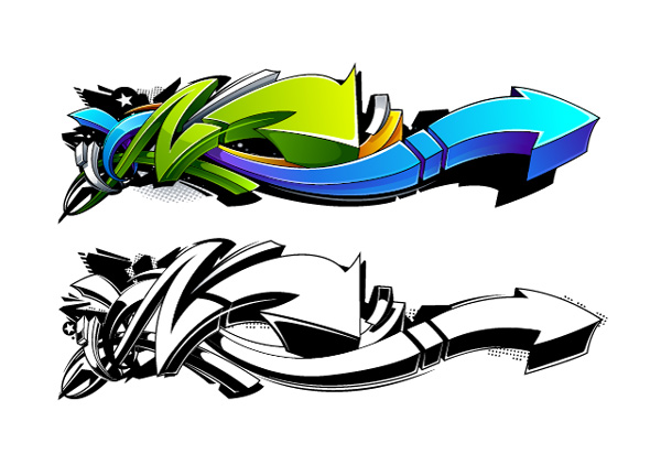 Link toCreate a wild, graffiti-style arrow design in adobe illustrator