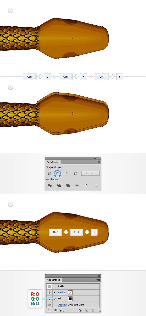 Snake Pattern Brush
