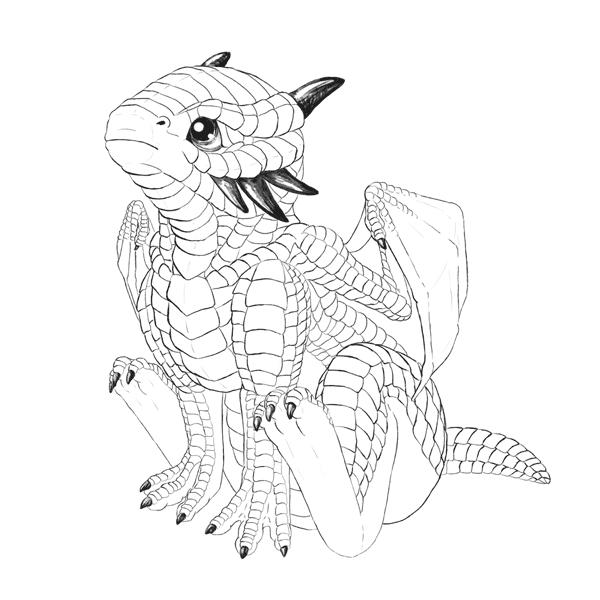 snowglobedragon-4-1-dragon-sketch