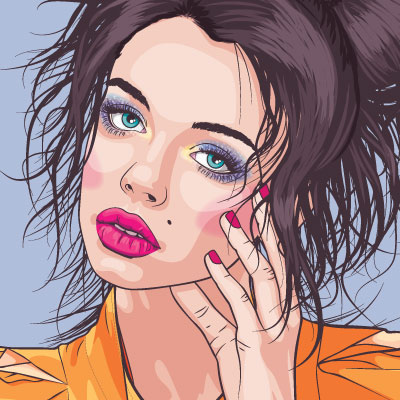 Vector Portraits on Behance | Art and Illustrations in ...
