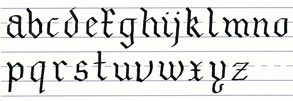 Mastering Calligraphy: How to Write in Gothic Script