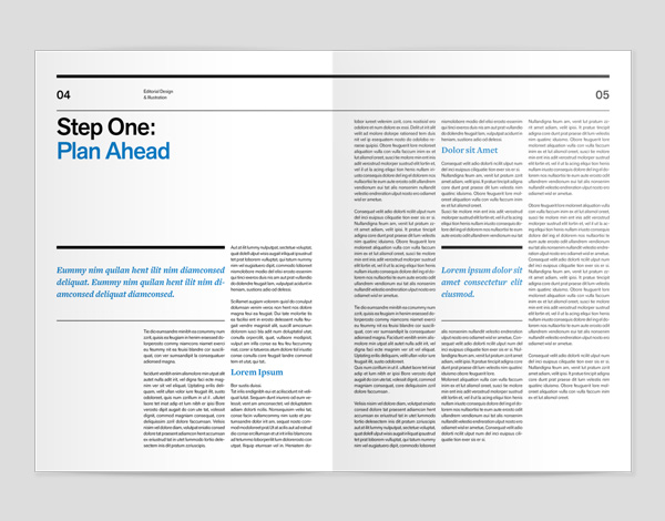 create a magazine cover inner spread with mock ups in adobe indesign
