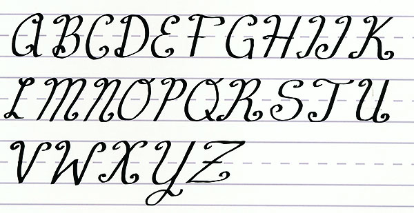 Make Your Own Font Uppercase Alphabet 2