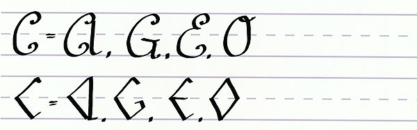 make your own font-uppercase letters like c