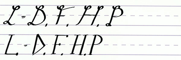 make your own font-uppercase letters like l