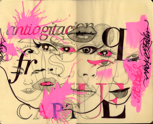 Fashion Book Cover Art ~ Core art skills part the sketchbook