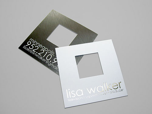 Beyond the boring rectangle fantastic die cut business cards enzuvan reheart Choice Image