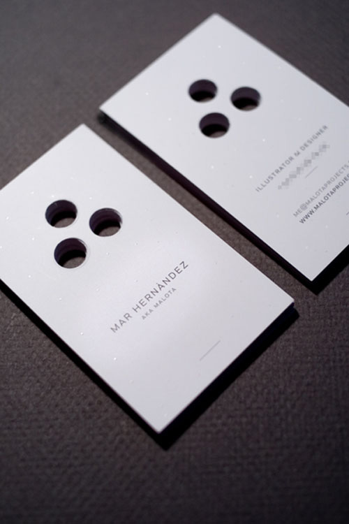 Beyond the Boring Rectangle Fantastic Die Cut Business Cards