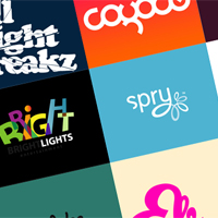 Preview for Inspiration: Fantastic Logos Across the Color Spectrum