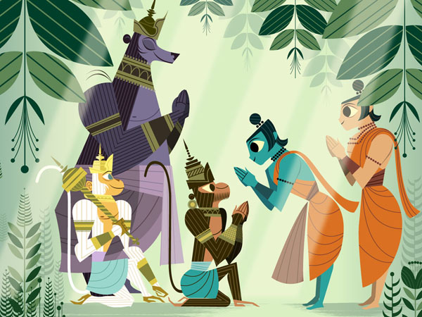 ramayana the divine loophole The ramayana study guide contains literature essays, quiz questions, major themes, characters, and a full summary and analysis.