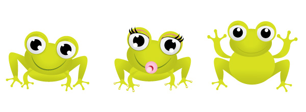 9-baby-frog-characters