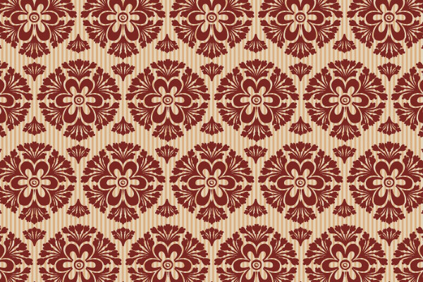 Free Vector Downloads of Illustrator Patterns for Vintage Design 18