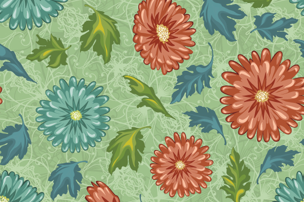Free Vector Downloads of Illustrator Patterns for Vintage Design 2