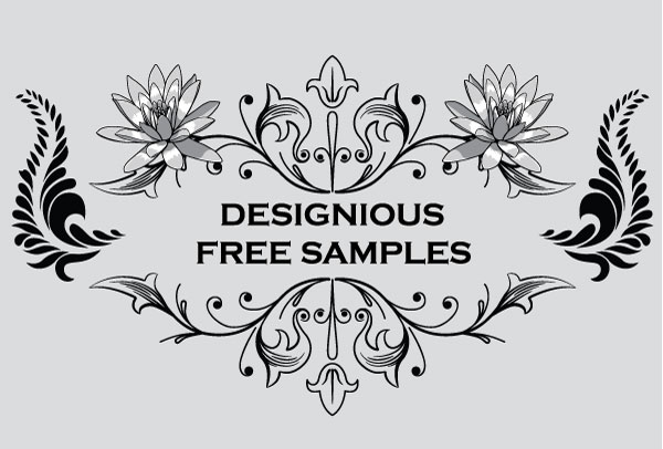 flourish vector sample pack - photo #1