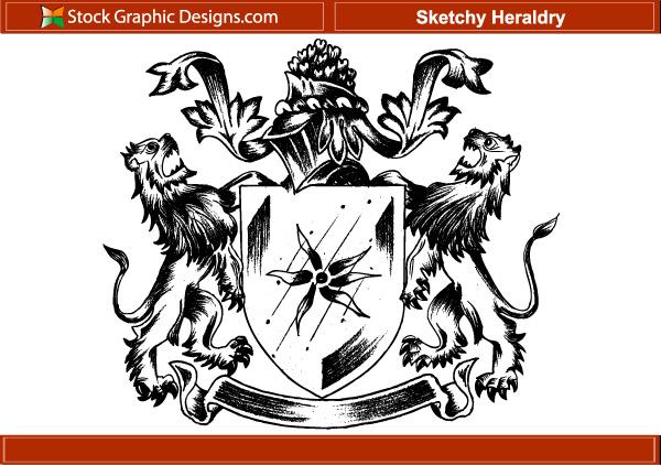 150 free vintage vector medieval heraldry graphics 5 sketchyheraldry stopboris Choice Image
