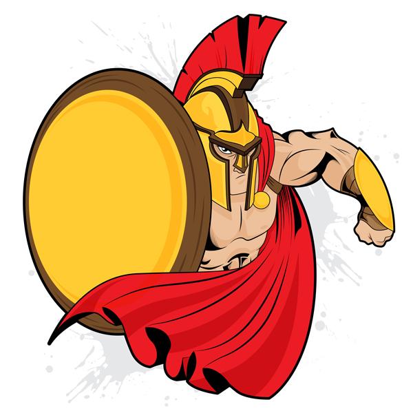 9-spartan-mascot
