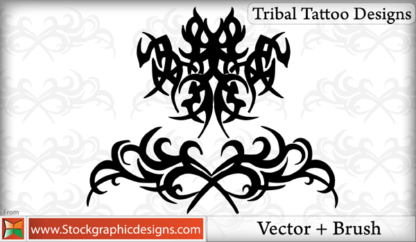 200 Free Vectors Tribal Graphics Tattoo Designs