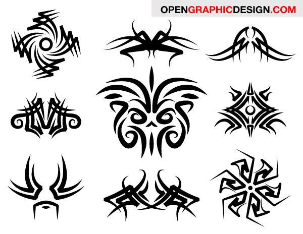 200 Free Vectors Tribal Graphics Amp Tattoo Designs
