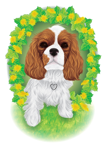 Link toCreating a detailed furry dog portrait with art brushes - vector premium tutorial