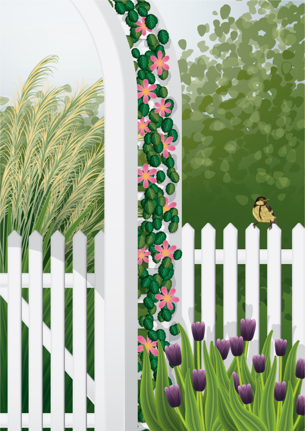 Link toCreate a garden scene using brushes in illustrator - vector premium tutorial