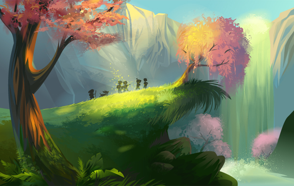 Link toCreate a magical vector landscape using illustrator - vector premium tutorial