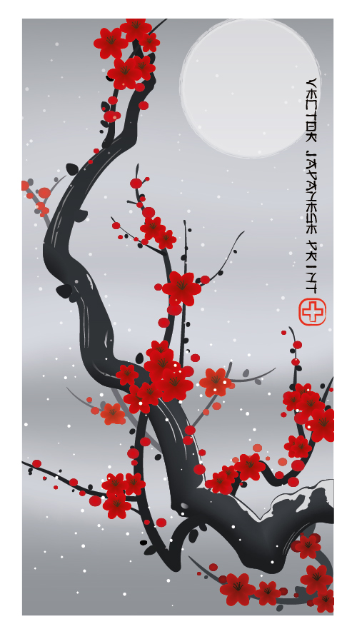 Link toCreate a japanese ukiyo-e style print - vector premium tutorial