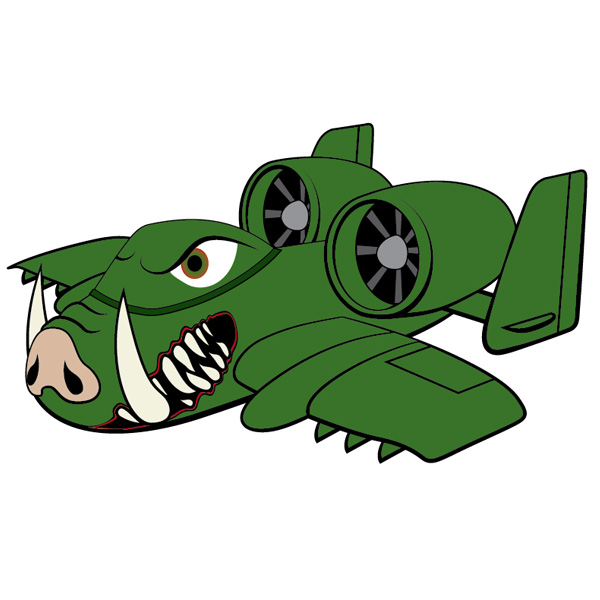 Link toCreate an a-10 warthog, character illustration - vector premium tutorial