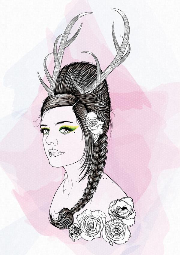The Art Of Vectoring Hair