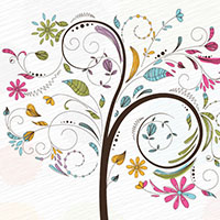 Preview for 450+ Free Graphics: Lush Vector Trees and Summer Leaves