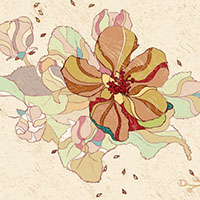 Preview for 70+ Free Graphics: Vintage Vector Flowers and Floral Ornament Sets