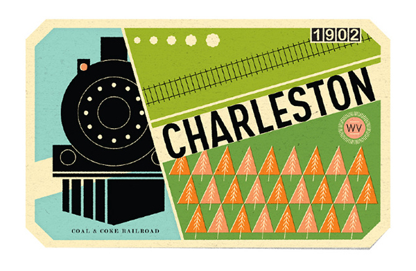 Charleston-label