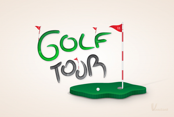 Link toCreate a golf themed, vector illustration - tuts+ premium tutorial