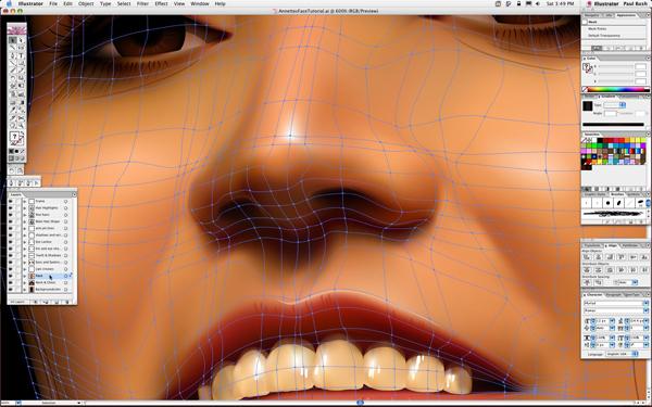 mesh tool illustrator file