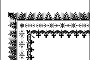19th Century Deco Borders