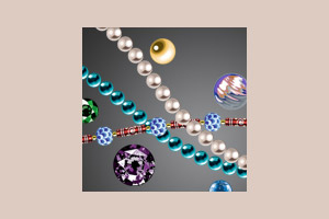Perlen und Edelsteine