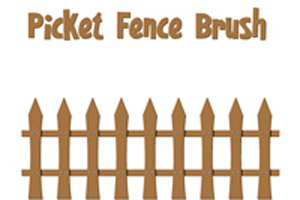 Picket Fence Brush