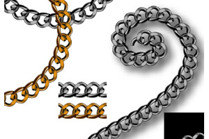 Realistic Chain Pattern