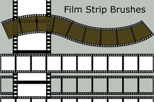 Film Strip Brush Set